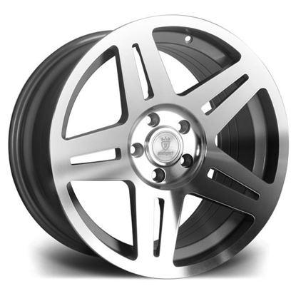 "17"" Stuttgart ST11 Silver Polished Alloy Wheels"