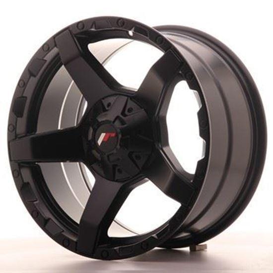 Japan Racing JRx-5  Matt Black Alloy Wheels