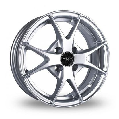"14"" Fox FX002 Hyper Silver Alloy Wheels"