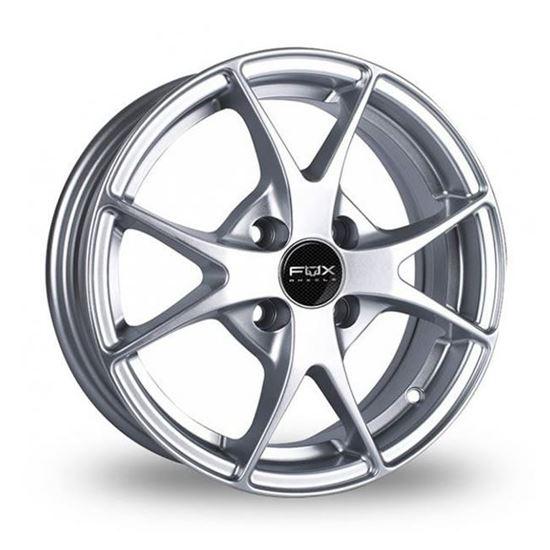 "14"" Fox FX002 Hyper Silver Alloy Wheels"