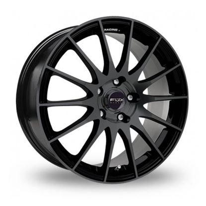 "15"" Fox FX004 Gloss Black Alloy Wheels"