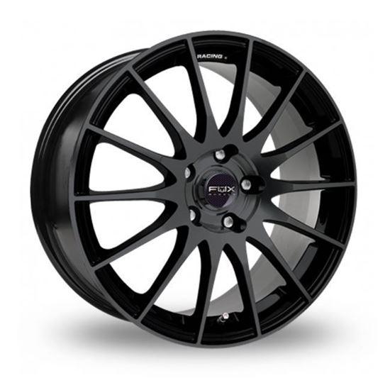 "16"" Fox FX004 Gloss Black Alloy Wheels"