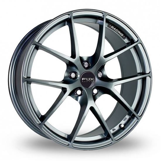 "15"" Fox FX005 Carbon Grey Alloy Wheels"