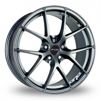 "16"" Fox FX005 Carbon Grey Alloy Wheels"