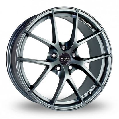 "17"" Fox FX005 Carbon Grey Alloy Wheels"
