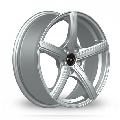 "14"" Fox FX006 Silver Alloy Wheels"