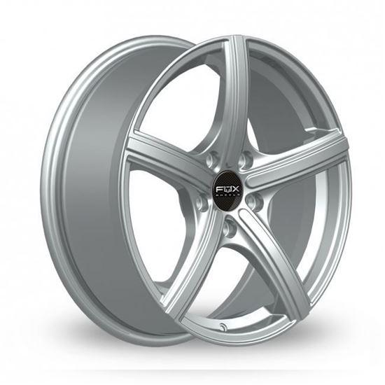 "14"" Fox FX006 Silver Alloy Wheels"
