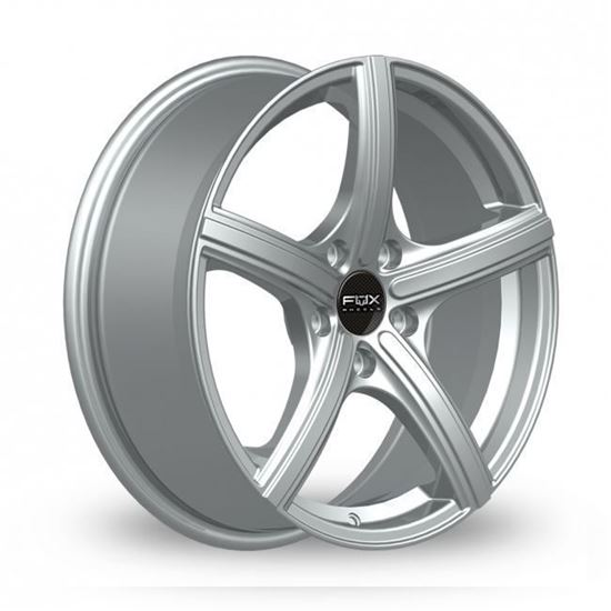 "15"" Fox FX006 Silver Alloy Wheels"