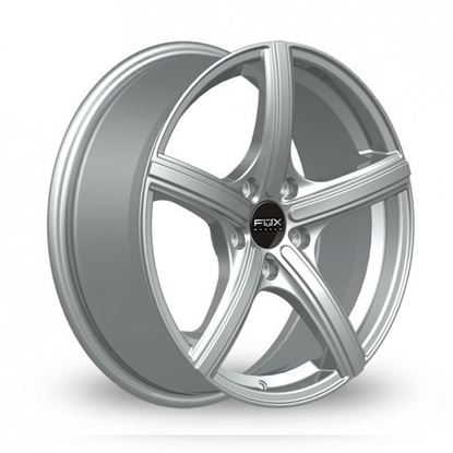 "17"" Fox FX006 Silver Alloy Wheels"