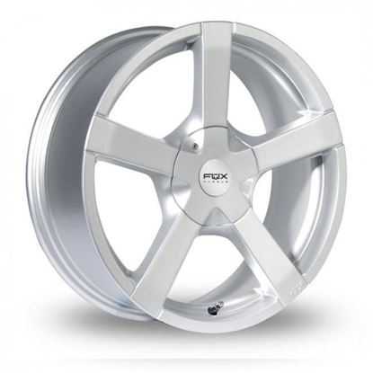 "15"" Fox FX1 Silver Alloy Wheels"