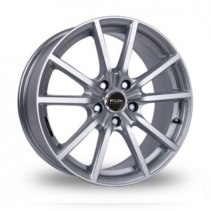 "17"" Fox FX10 Hyper Silver Alloy Wheels"