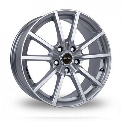 "18"" Fox FX10 Hyper Silver Alloy Wheels"