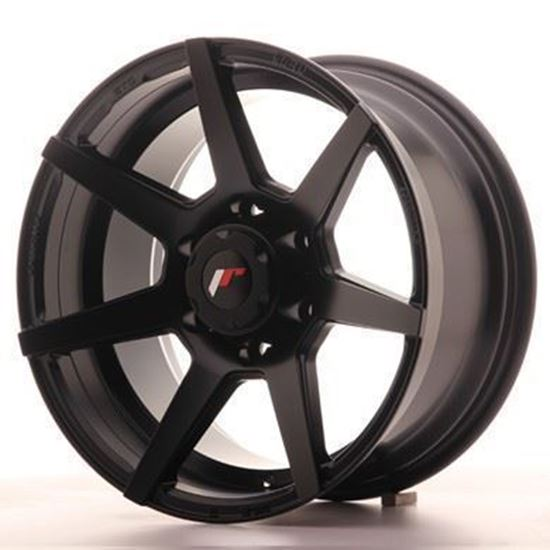 Japan Racing JRX-3  Matt Black Alloy Wheels
