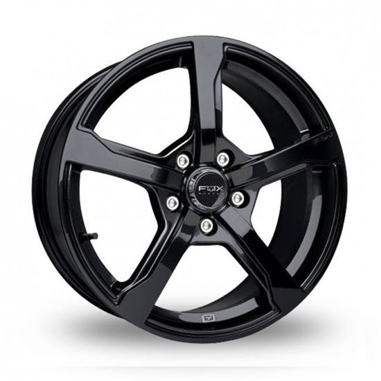 "15"" Fox FX6 Hyper Black Alloy Wheels"