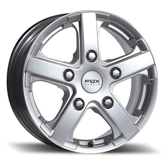 "15"" Fox FXC Viper Silver Alloy Wheels"
