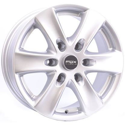 "16"" Fox FXC Viper 2 Silver Alloy Wheels"