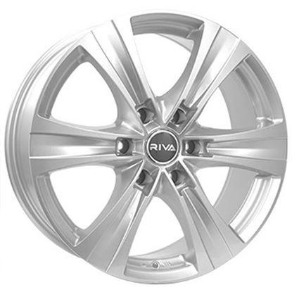 "18"" Fox FX III Viper Silver Alloy Wheels"