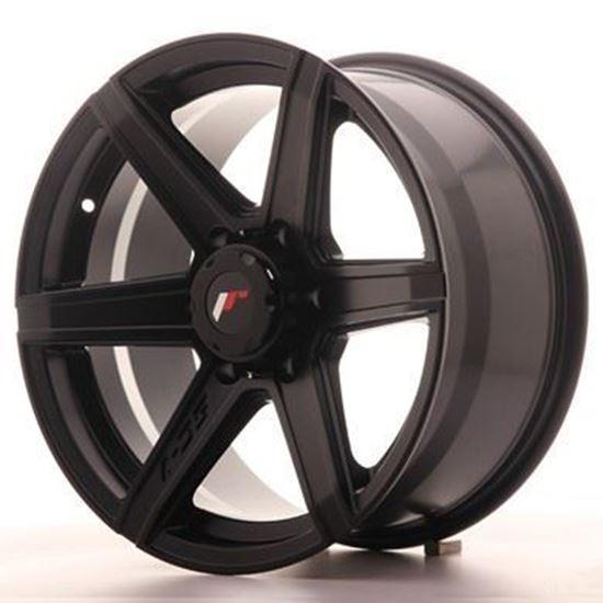 "18"" Japan Racing JRX-6  Matt Black Alloy Wheels"