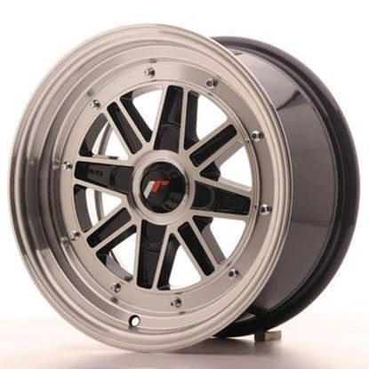 Japan Racing JR31 Black Machined Alloy Wheels