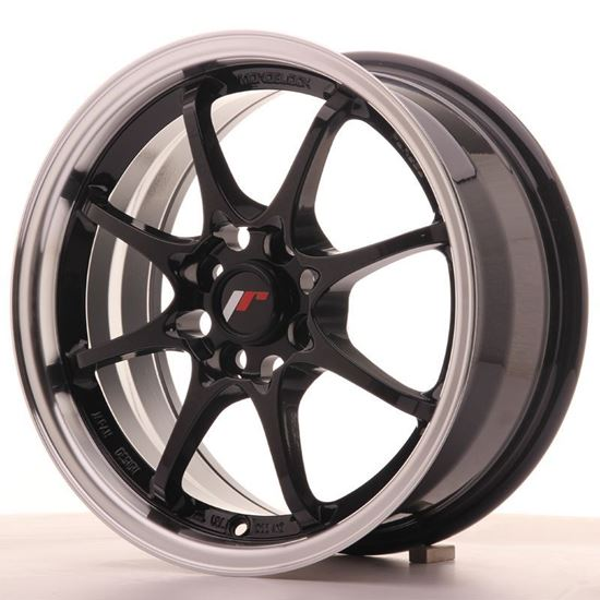 Japan Racing JR5 Gloss Black Alloy Wheels
