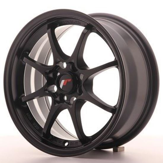 Japan Racing JR5 Matt Black Alloy Wheels