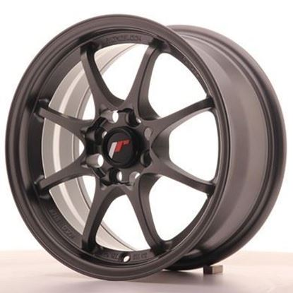 Japan Racing JR5 Matt Gunmetal Alloy Wheels