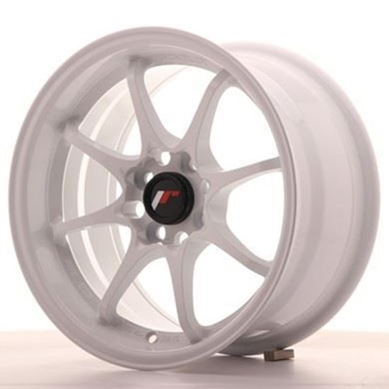 "15"" Japan Racing JR5 White Alloy Wheels"