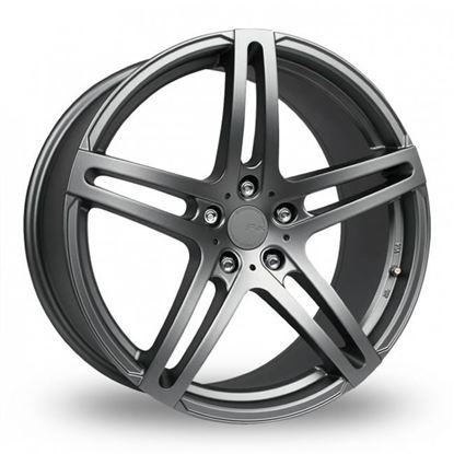 "19"" Fox MS005 Carbon Grey Alloy Wheels"