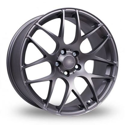 "17"" Fox MS007 Carbon Grey Alloy Wheels"