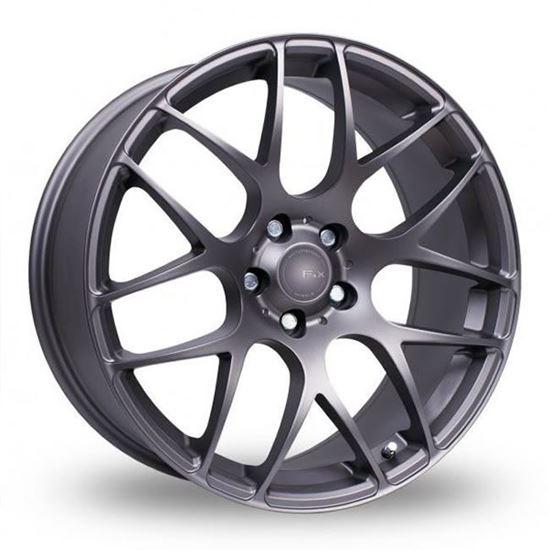 "17"" Fox MS007 Carbon Grey Alloy Wheels"