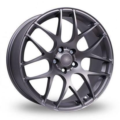 "18"" Fox MS007 Carbon Grey Alloy Wheels"