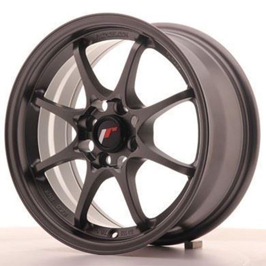 Japan Racing JR5 Matt Gunmetal Alloy Wheels