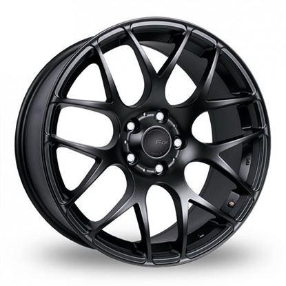 "19"" Fox MS007 Matt Black Alloy Wheels"