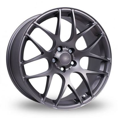 "19"" Fox MS007 Carbon Grey Alloy Wheels"
