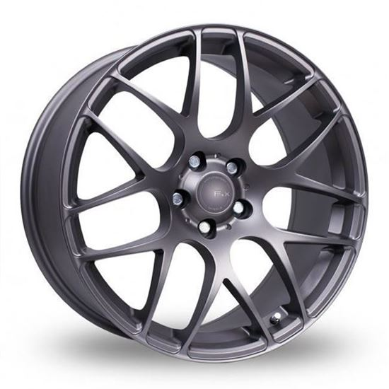 "19"" Fox MS007 Carbon Grey Alloy Wheels"