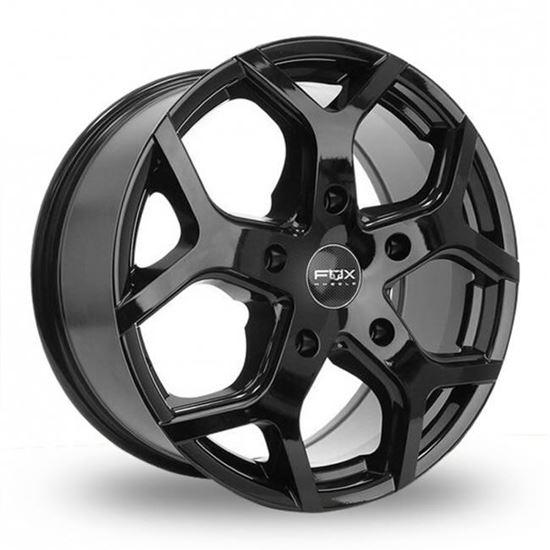"18"" Fox Viper 4 Gloss Black Alloy Wheels"