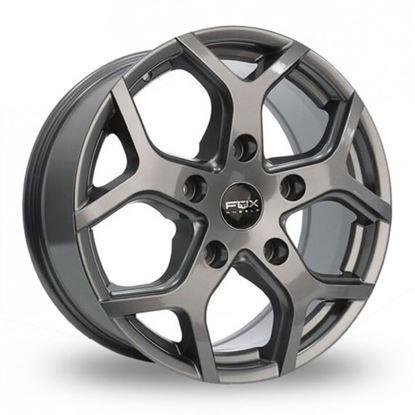 """18"""" Fox Viper 4 Carbon Grey Alloy Wheels"""