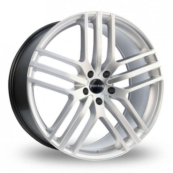 "22"" Novus NVS03 Hyper Silver Alloy Wheels"