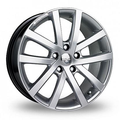 "15"" Riva AVS Hyper Silver Alloy Wheels"