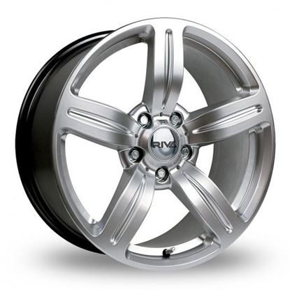 "18"" Riva MSX Silver Alloy Wheels"