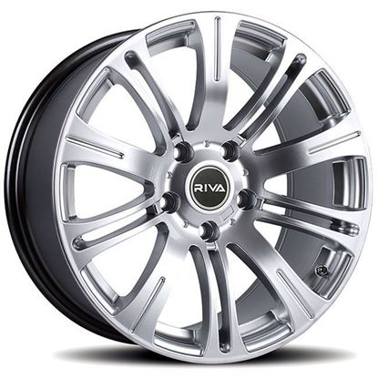 "17"" Riva MVR Silver Alloy Wheels"