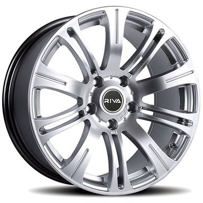 "18"" Riva MVR Silver Alloy Wheels"