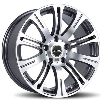 "17"" Riva MVR Gun Metal Alloy Wheels"