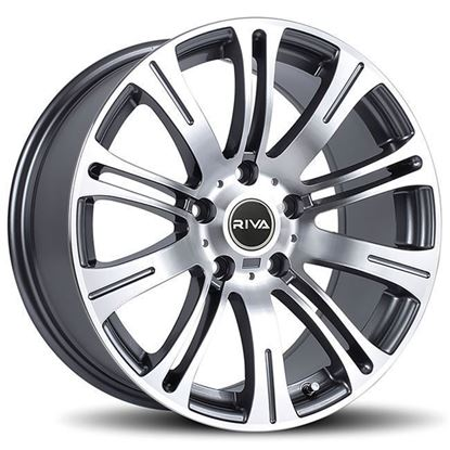 "18"" Riva MVR Gun Metal Alloy Wheels"