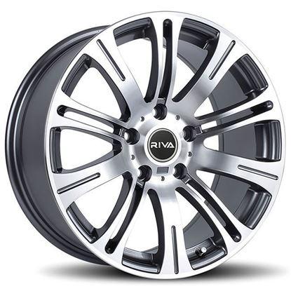 "19"" Riva MVR Gun Metal Alloy Wheels"