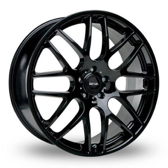 "19"" Riva DTM Gloss Black Alloy Wheels"