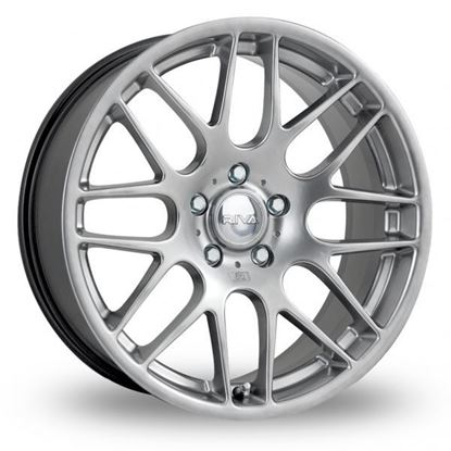 "18"" Riva DTM Hyper Silver Alloy Wheels"