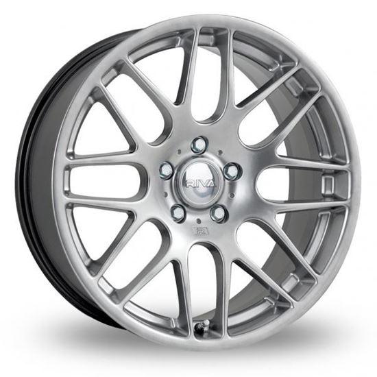 "20"" Riva DTM Hyper Silver Alloy Wheels"