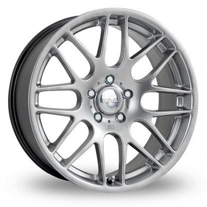"22"" Riva DTM Hyper Silver Alloy Wheels"
