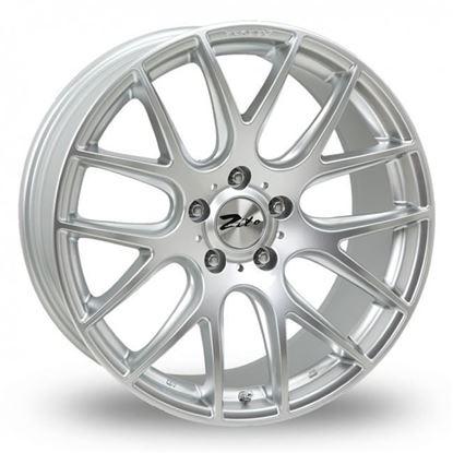 """22"""" Zito 935 Hyper Silver Alloy Wheels"""